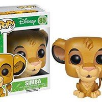 FunKo - Funko POP! Disney: The Lion King Simba Action Figure