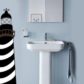 Lighthouse Wall Decal | Nautical Decor | Ocean There Decor | Wall Sticker