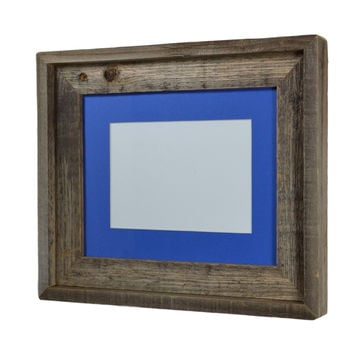 12x12 Picture Frame From Upcycled Wood From Barnwood4u