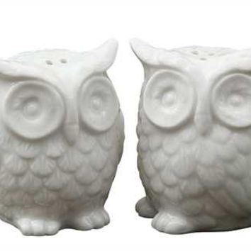 Owl Salt & Pepper Shaker