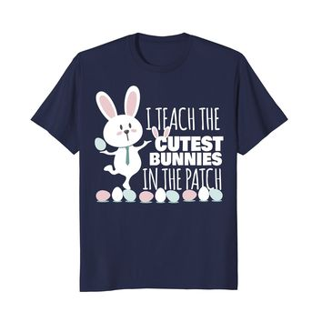 Funny Easter Shirt 2018 for Teacher - Bunny Gift Tshirt