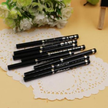 Long Lasting Waterproof Eyeliner Pencil, Black