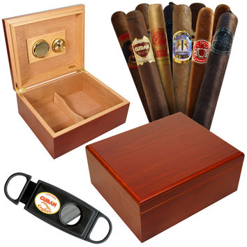 Combo Primero Mio Humidor and 12 Best Cigars