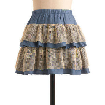 Net Necessarily Skirt | Mod Retro Vintage Skirts | ModCloth.com
