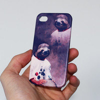 Astronaut Sloth . iPhone 4 case . iPhone 5 case