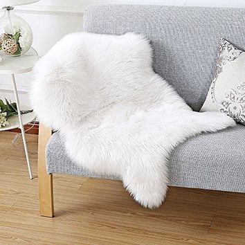shop faux fur rug on wanelo. Black Bedroom Furniture Sets. Home Design Ideas