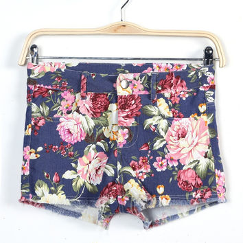 Summer Print Pants Shorts [4917821060]