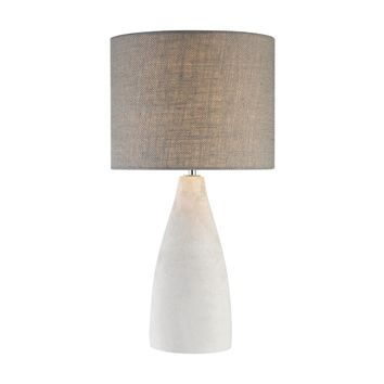 D2949 Rockport 1 Light Table Lamp In Polished Concrete