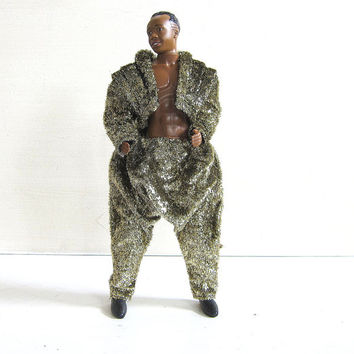 Vintage Mc Hammer Doll In Gold Suit From Dirty Birdies Vintage