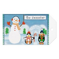 Kids Personalized Two-Sided Gift Tags