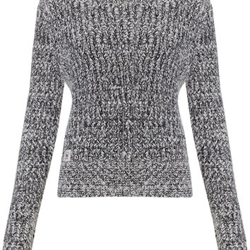 Bellfield Bolsover Round Neck Eyelash Twisted Yarn Knit Jumper
