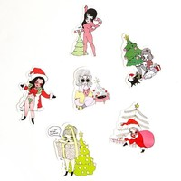 Ho Ho Ho Sticker Packet