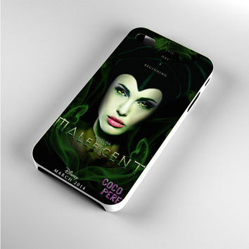 Angelina Jolie Disney Maleficent Fan Made iPhone 4s Case