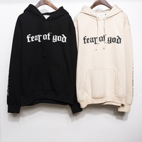 Men Winter Warm Pullover Hoodies [9070640835]