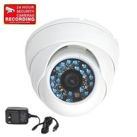 VideoSecu Day Night Vision CCTV Infrared Home Security Camera Color CCD Outdoor Vandal Proof 420TVL...