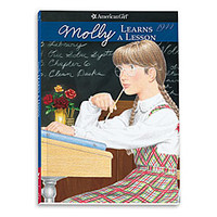 American Girl® Bookstore: Molly Learns a Lesson - Paperback