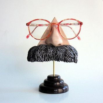Nietzsche Nose Eyeglass stand by ArtAkimbo on Etsy