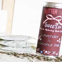 Lavender & Coconut Milk SweeTea Bath Tea
