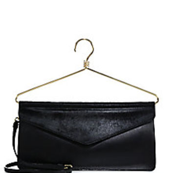 Moschino - Hanger Calf Hair & Leather Shoulder Bag - Saks Fifth Avenue Mobile