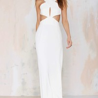 SolaceMona Cutout Maxi Dress