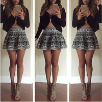 Fashion sexy women skirt ERU63WY