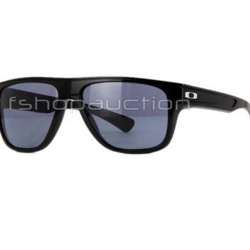 Oakley OO 9199-03 BREADBOX POLARIZED Polished Black Iridium Mens Sunglasses .