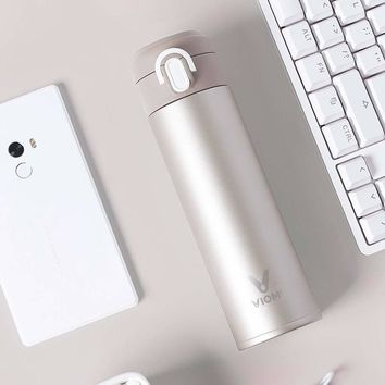 Xiaomi mi Mijia VIOMI 300ml Original Stainless Steel Vacuum 24 Hours Flask Water Smart Bottle Thermos Single Hand ON Z30