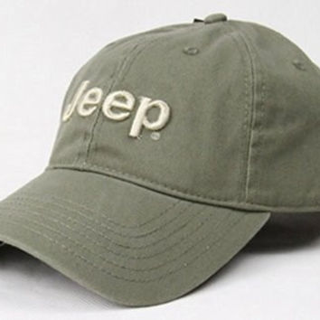 DD2 Summer Outdoors Jeep Cap (Army Green)