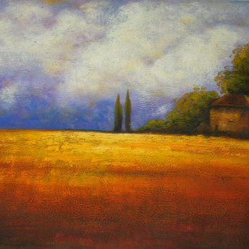 European Country Home Oil Painting