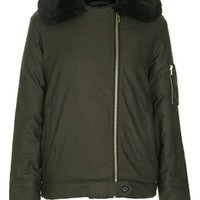 Topshop 'Gabby' Air Force Bomber Jacket | Nordstrom