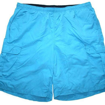 Vintage early 90s LL Bean Nylon Swim Trunks Shorts Size Large