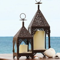 Cabrillo Moroccan Punched Lanterns