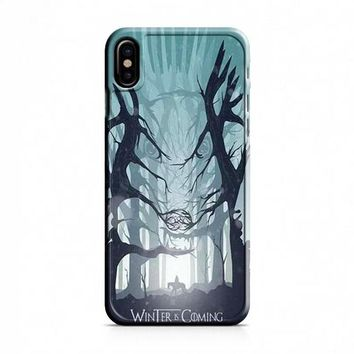 Game of Thrones The Boy Who Cried Direwolf iPhone X Case