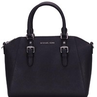 MICHAEL KORS LEATHER CIARA MEDIUM MESSENGER BAG