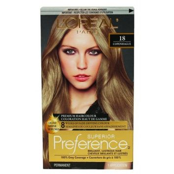 Buy L'Oreal Paris Superior Preference Medium Ash Blonde #18 Online in Canada | Free Shipping