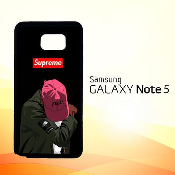 Yeezy Taught Me Supreme X5006  Samsung Galaxy Note 5 Case