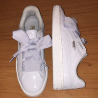 """ PUMA"" Rihanna Bows White/Pink  Running Shoes Shoes"