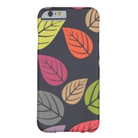 Autumn Leaves Pattern iPhone 6 Case