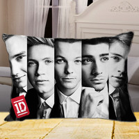 New One Direction PERSONALIZED on Rectangle Pillow Cover