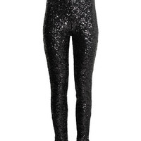 H&M Sequined Pants $39.99