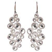 Sterling Silver Bubble Cluster Earrings, Drops Earrings