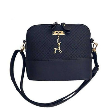 Women Messenger Bags Fashion Mini Bag With Deer Charm