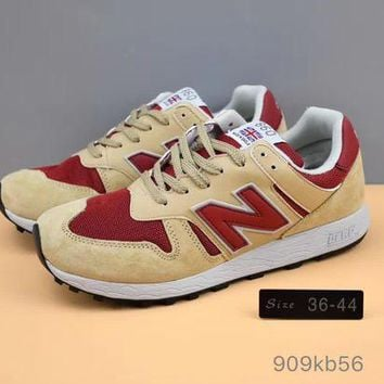 ONETOW cxon new balance nb860 retro shoes brown red for women men running sport casual shoes sneakers