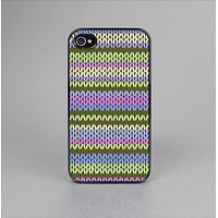 The Colorful Knit Pattern Skin-Sert Case for the Apple iPhone 4-4s