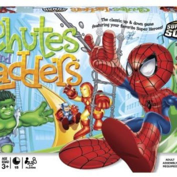 Hasbro Chutes and Ladders Super Hero Squad Board Game Great Toy For Kids New