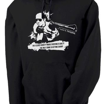 Hunter S. Thompson Closed Society Hoodie