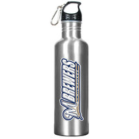 Stainless Steel Water Bottle - Milwaukee Brewers
