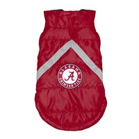 DCCKIV4 Alabama Crimson Tide Pet Puffer Vest