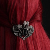 JEWELLERY : HAIR CLIP | Snakes Of Avalon