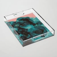 When we met Acrylic Tray by duckyb